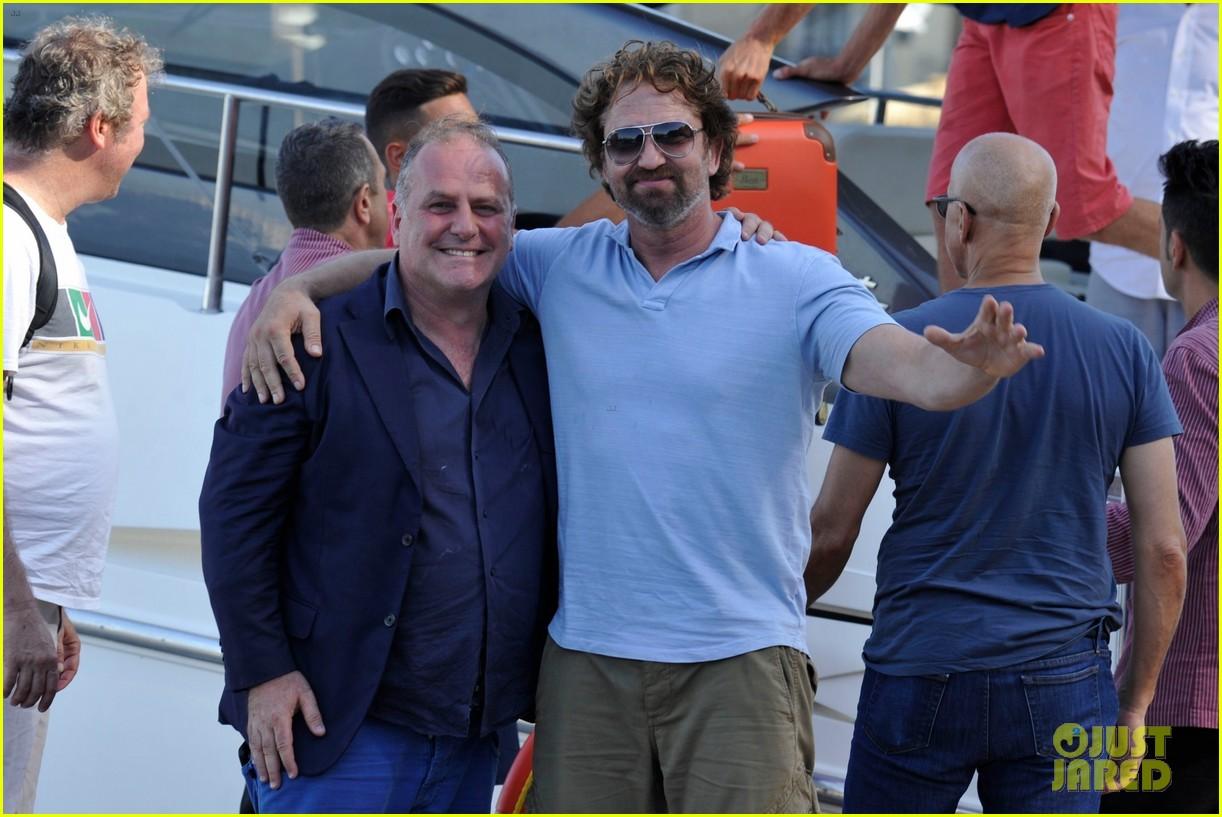 gerard butler ischia film festival arrival 053925815