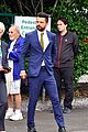 dominic cooper suits up for first day of wimbledon 05