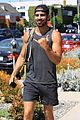 nyle dimarco shows off his buff arms heading to the gym 03