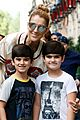 Photo 8 of Celine Dion & Her Twin Boys Pose for Cute Photos in Paris!