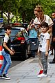 celine dion her twin boys pose for cute photos in paris 17