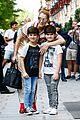 celine dion her twin boys pose for cute photos in paris 20