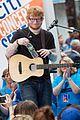 ed sheeran today show performances watch 12