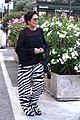 kris jenner steps out in zebra print pants in st tropez 03