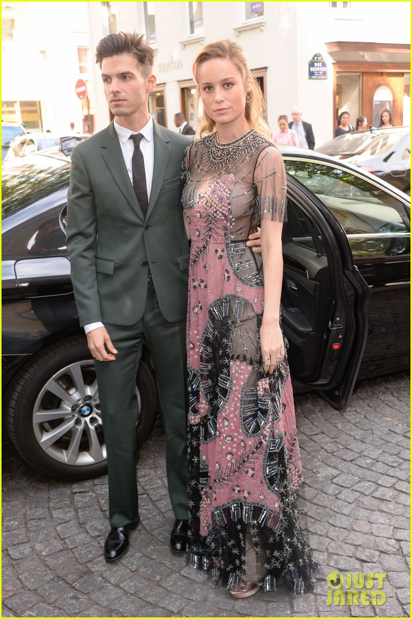 brie larson fiance alex greenwald couple up in paris for valentino 083924181