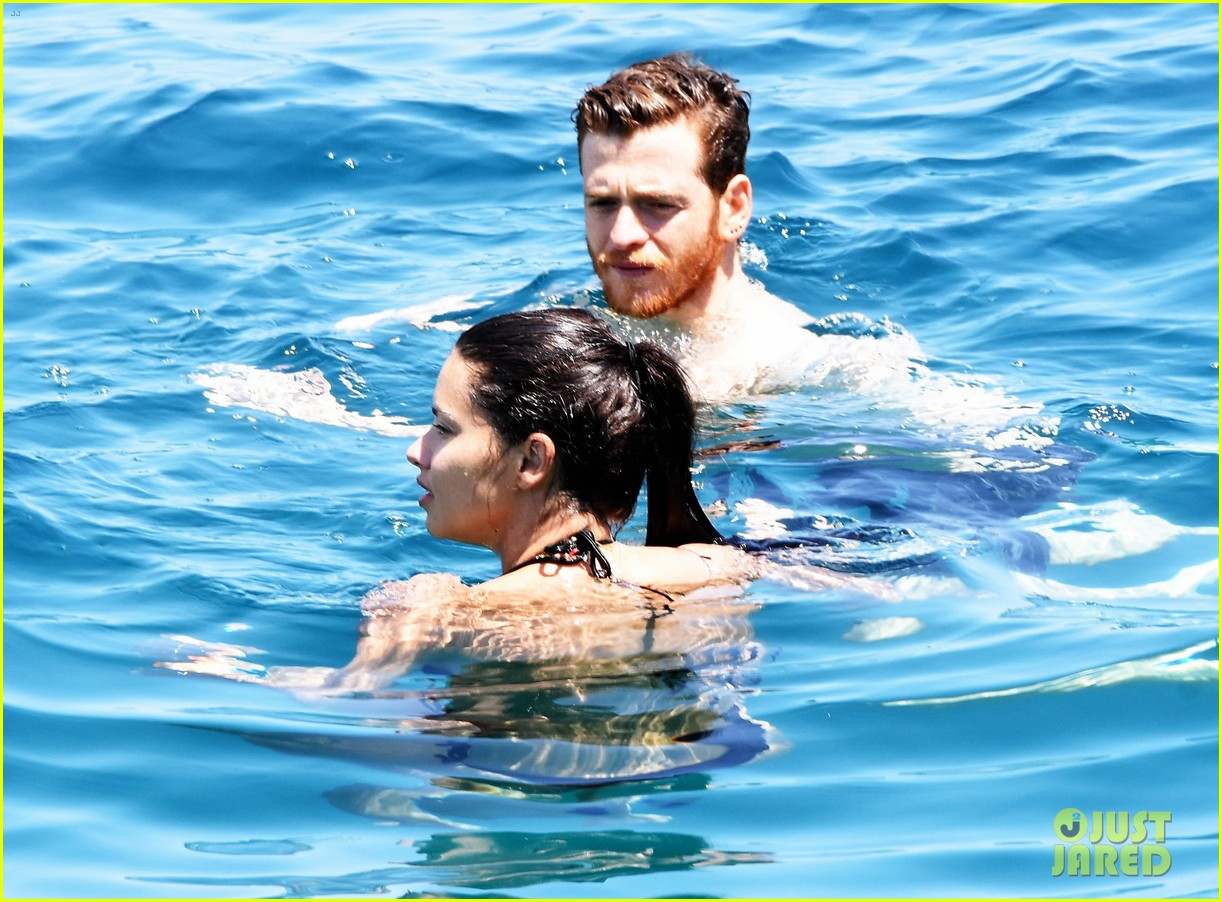adriana lima boyfriend metin hara relax on a yacht in turkey 023927921