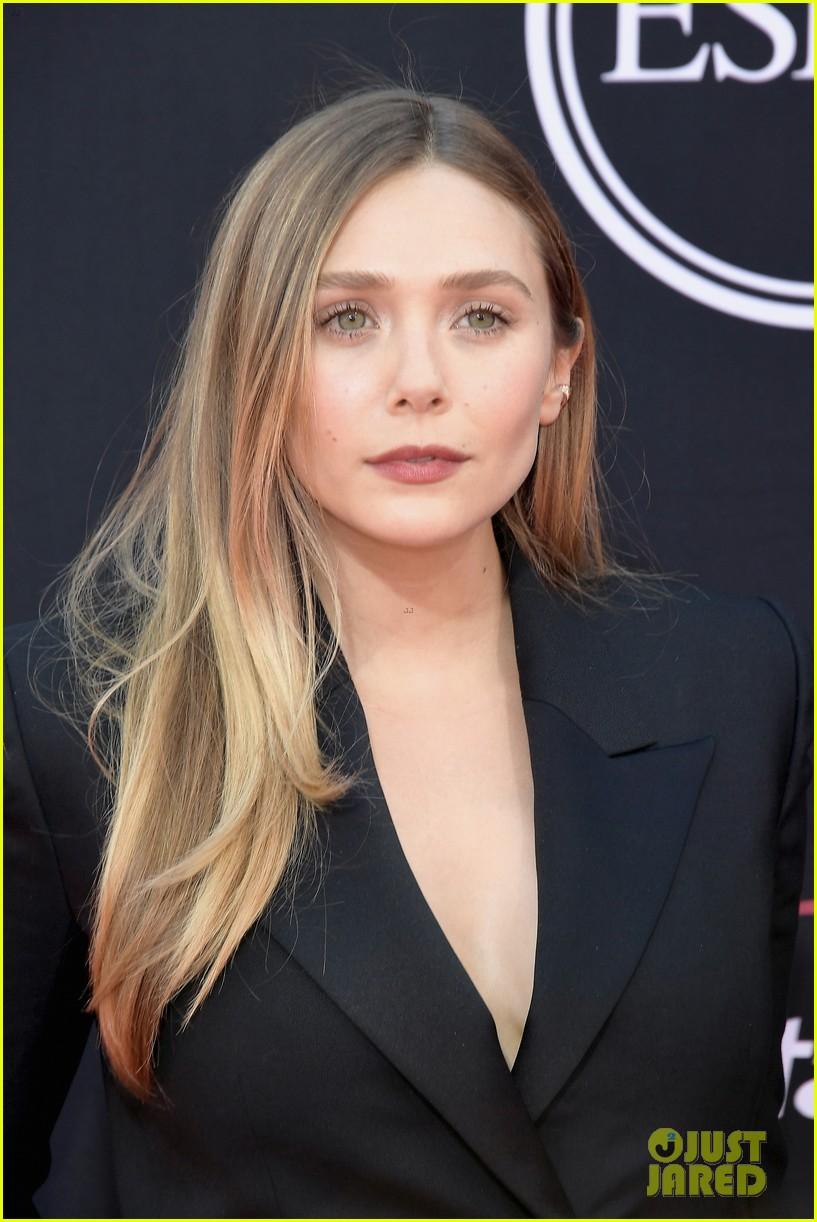 Elizabeth Olsen Rachel Lindsay Lindsey Vonn Go Glam For Espy Awards  2017 Espy Awards Abby Wambach Christina Schwarzenegger