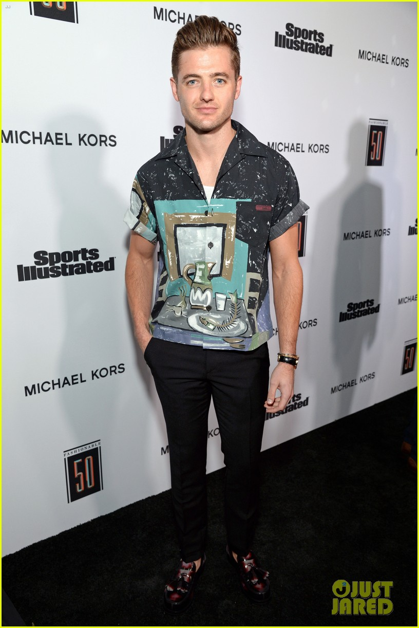 lindsey vonn robbie rogers more represent sports illustrateds fashionable 50 103930175