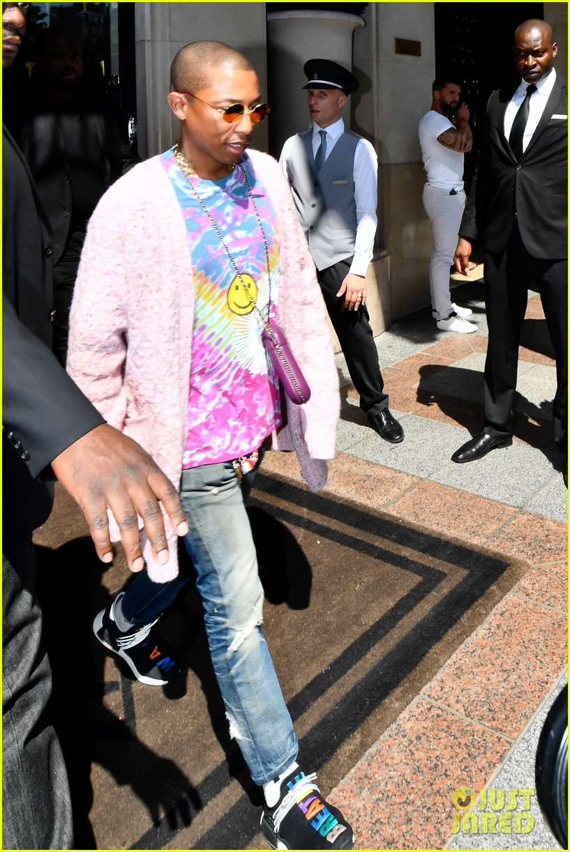 pharrell williams and wife helen lasichanh step out during paris fashion week 033923658