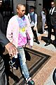 pharrell williams and wife helen lasichanh step out during paris fashion week 03