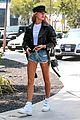 hailey baldwin steps out wearing daisy dukes in beverly hills 03