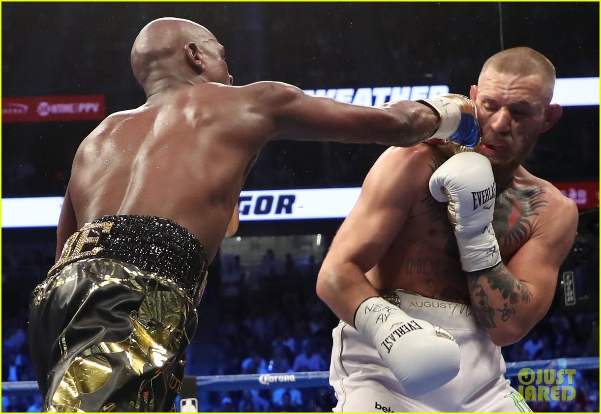 celebs react to mayweather beating mcgregor 073946005