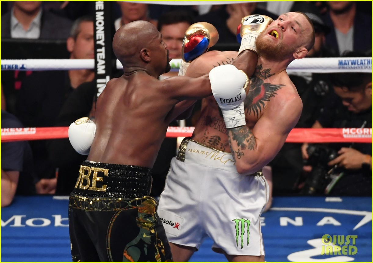 celebs react to mayweather beating mcgregor 093946007
