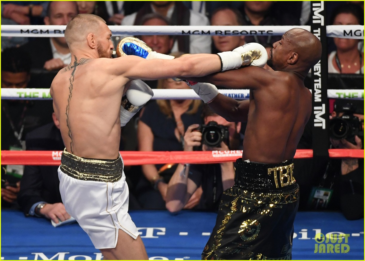 celebs react to mayweather beating mcgregor 343946032