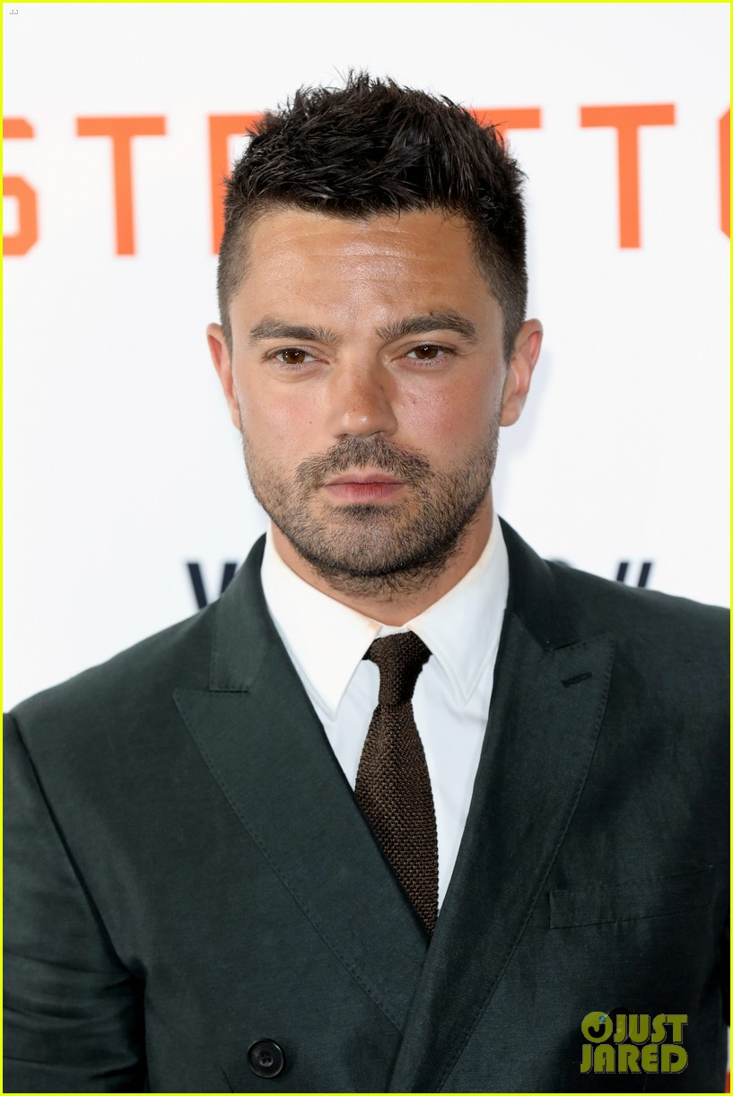 dominic cooper suits up for uk premiere of stratton 053947744