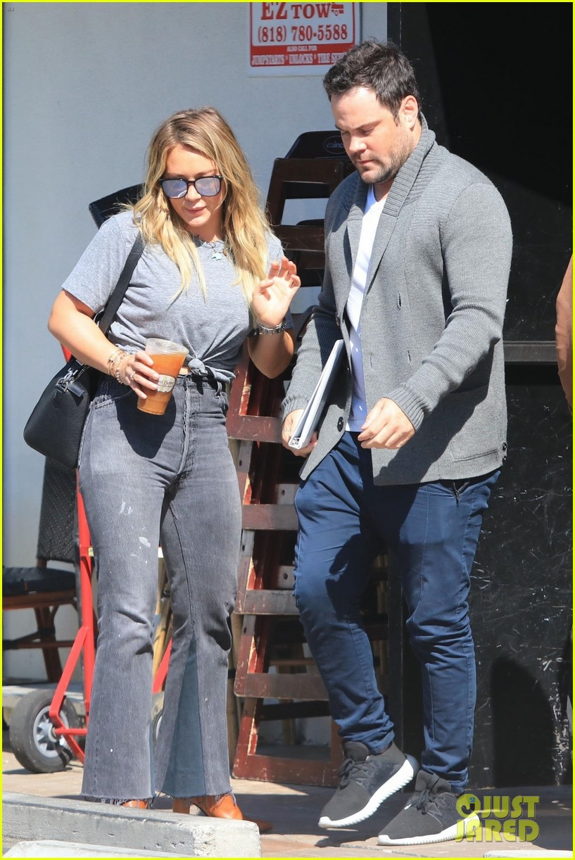 hilary duff ex mike comrie reunite 023948626