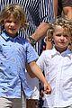 elton john david furnish pose with their boys on vacation 08