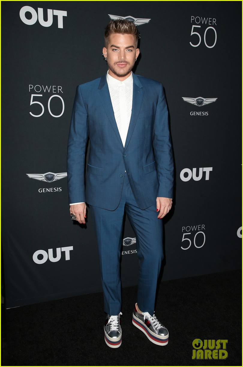 Mollee gray getty images - Caitlyn Jenner Adam Lambert Natalie Morales Lead The Pack At Out Power 50 Gala