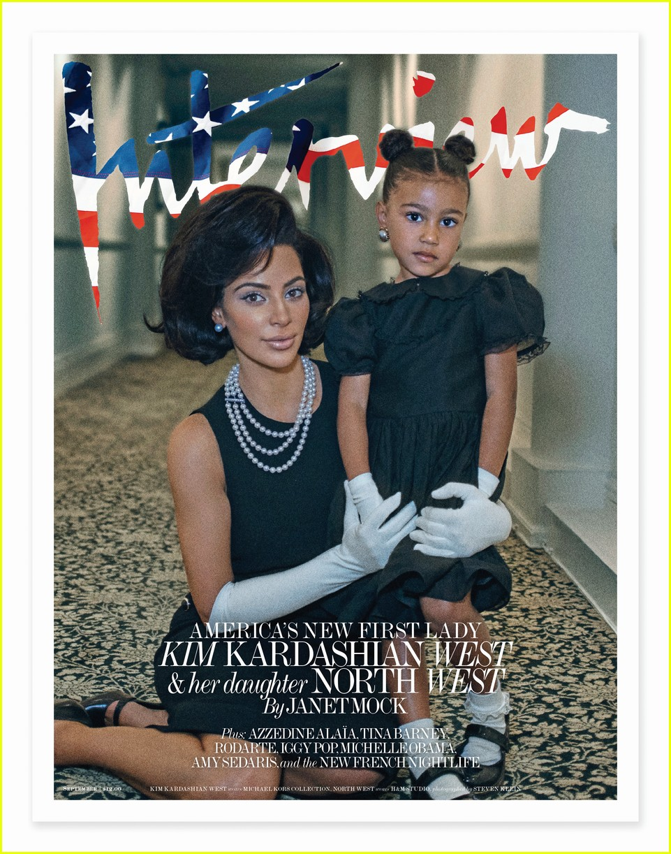 kim kardashian covers interview with north west 013947411