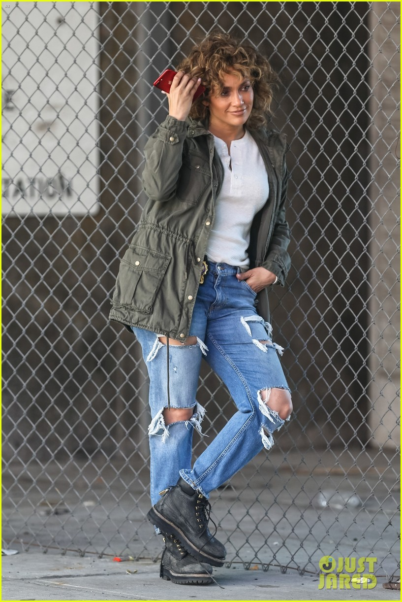 jennifer lopez makes a run for it on shades of blue set 013937187