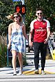 newlyweds kate mara jamie bell flaunt cute pda in la 04