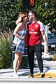 newlyweds kate mara jamie bell flaunt cute pda in la 08