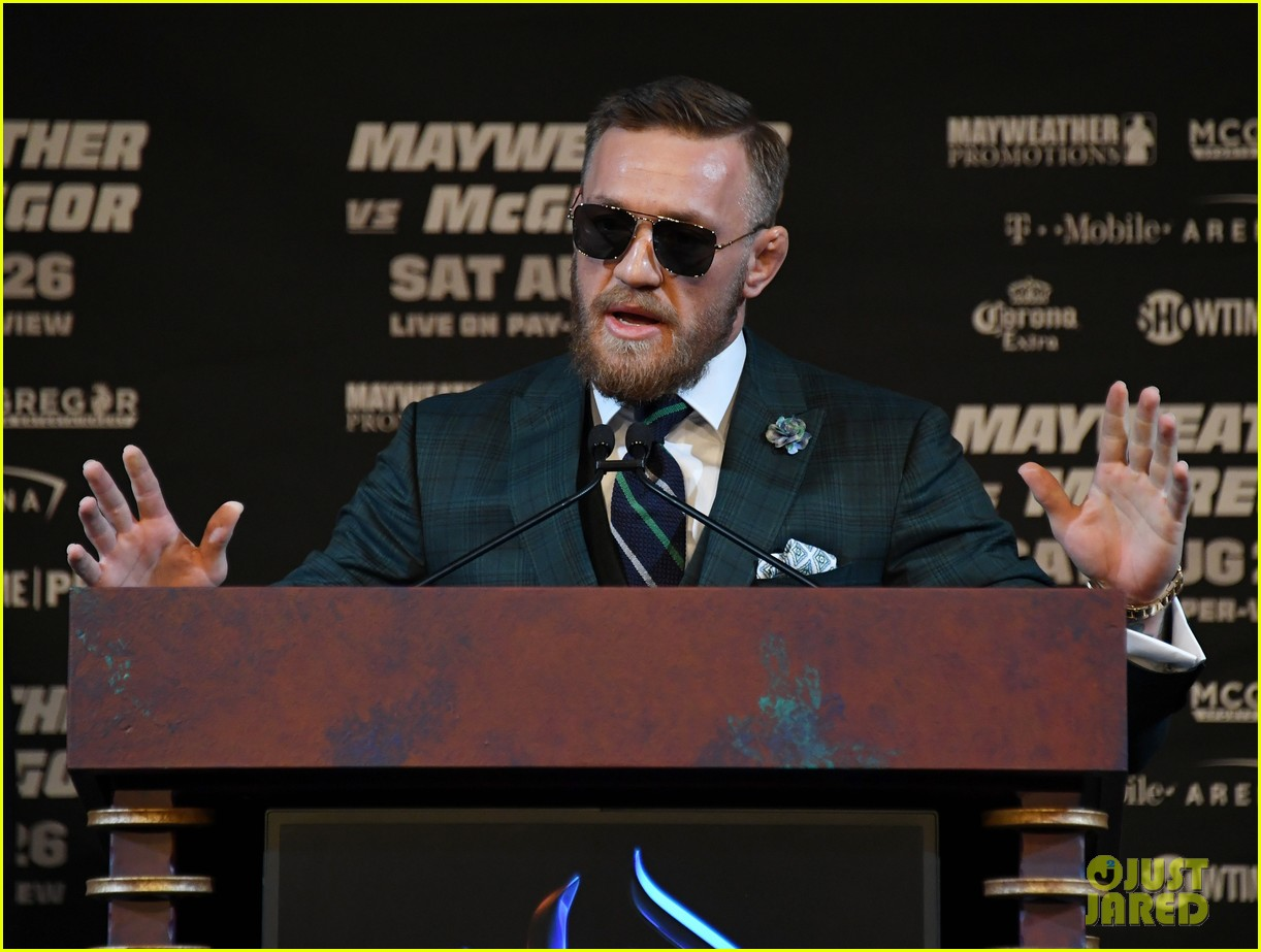 conor mcgregor floyd mayweather jr face off ahead of big match we are more than ready 023945104