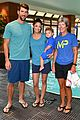 michael phelps adorable family team up with huggies 08