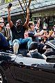 sense8 cast lana wachowski march in vancouver pride parade 07