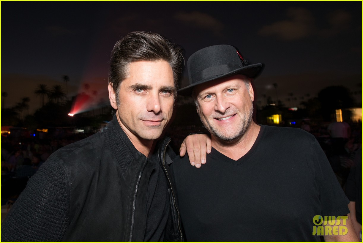 john stamos celebrates birthay with lor loughling dave coulier 013943878
