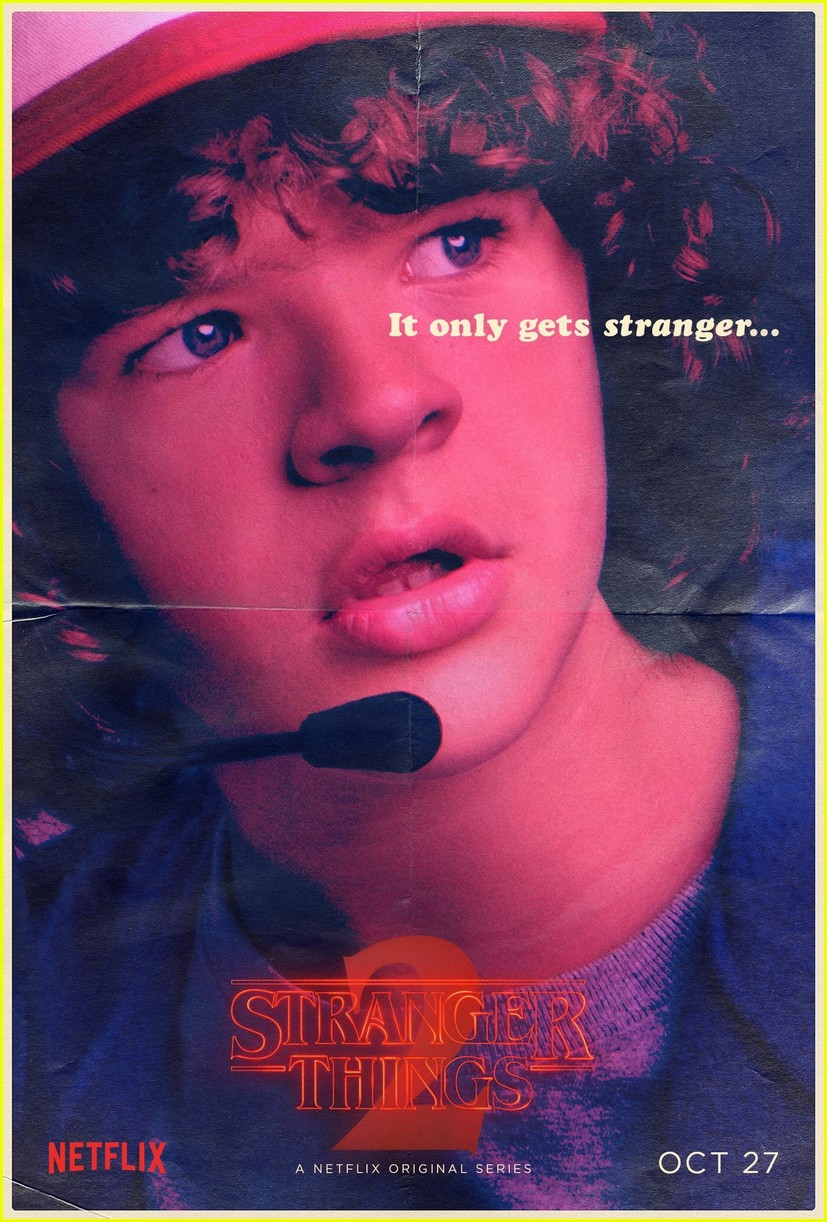 strangers things season 2 debuts new character posters 023946271