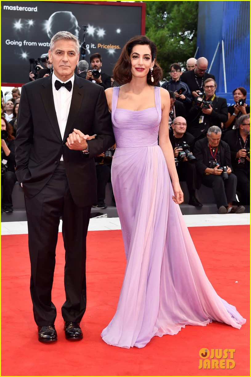 george amal clooney make first red carpet appearance since becoming parents 013949469