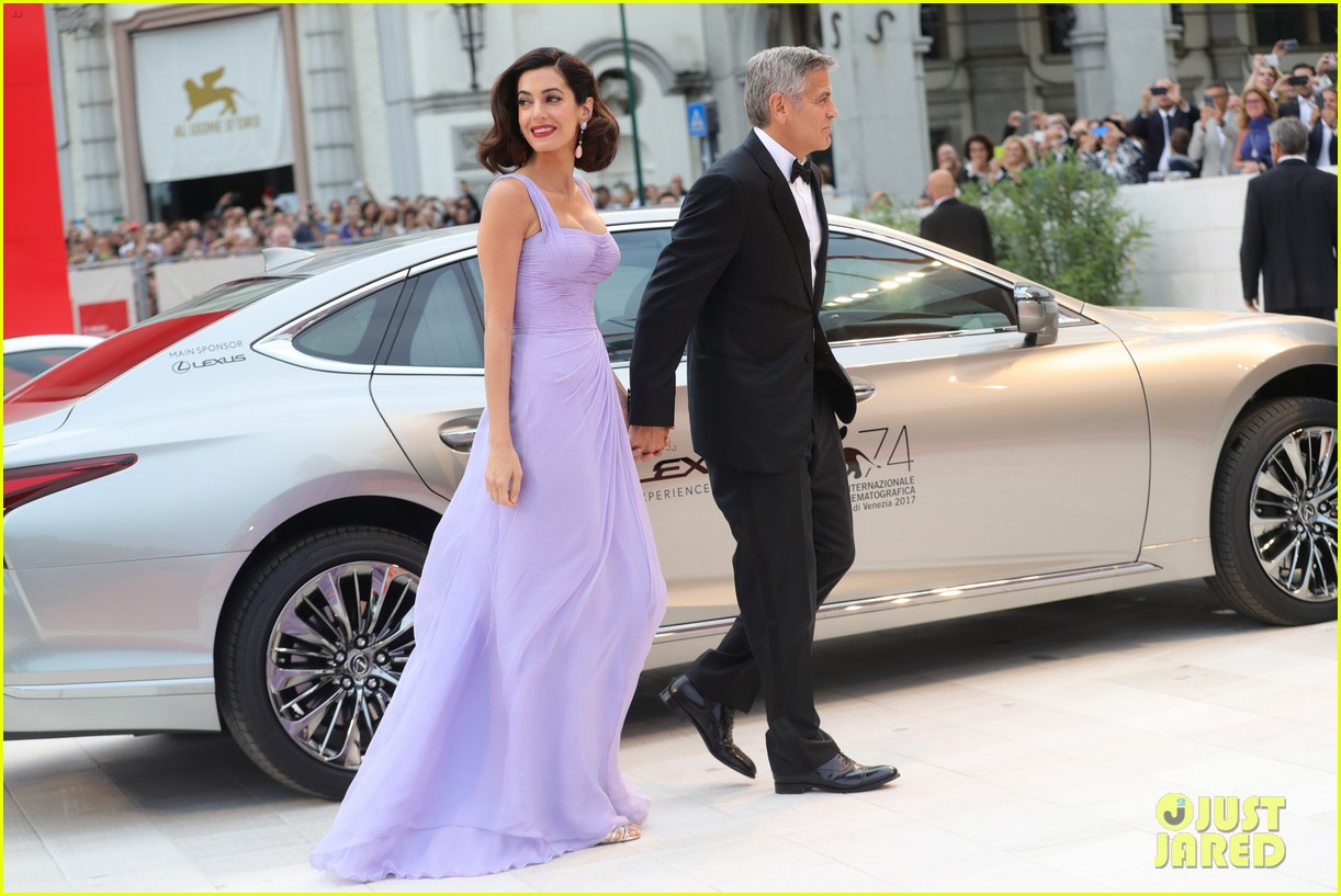 george amal clooney make first red carpet appearance since becoming parents 033949471