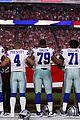dallas cowboys take a knee during national anthem 03