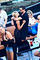 scott disick and sofia richie flaunt pda on a boat with friends 01