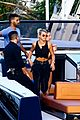 scott disick and sofia richie flaunt pda on a boat with friends 02