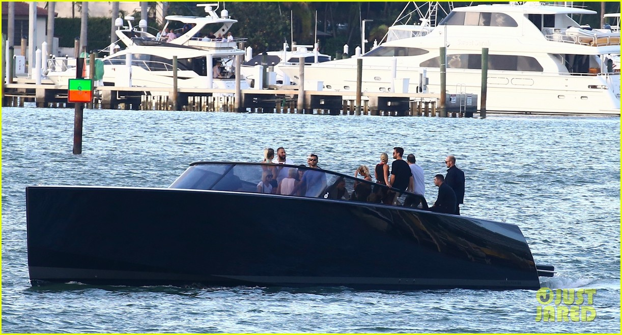 scott disick and sofia richie flaunt pda on a boat with friends2 293963009