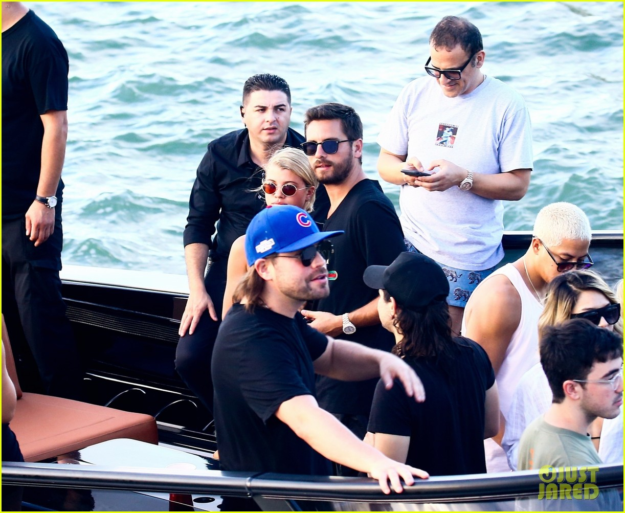 scott disick and sofia richie flaunt pda on a boat with friends2 403963020