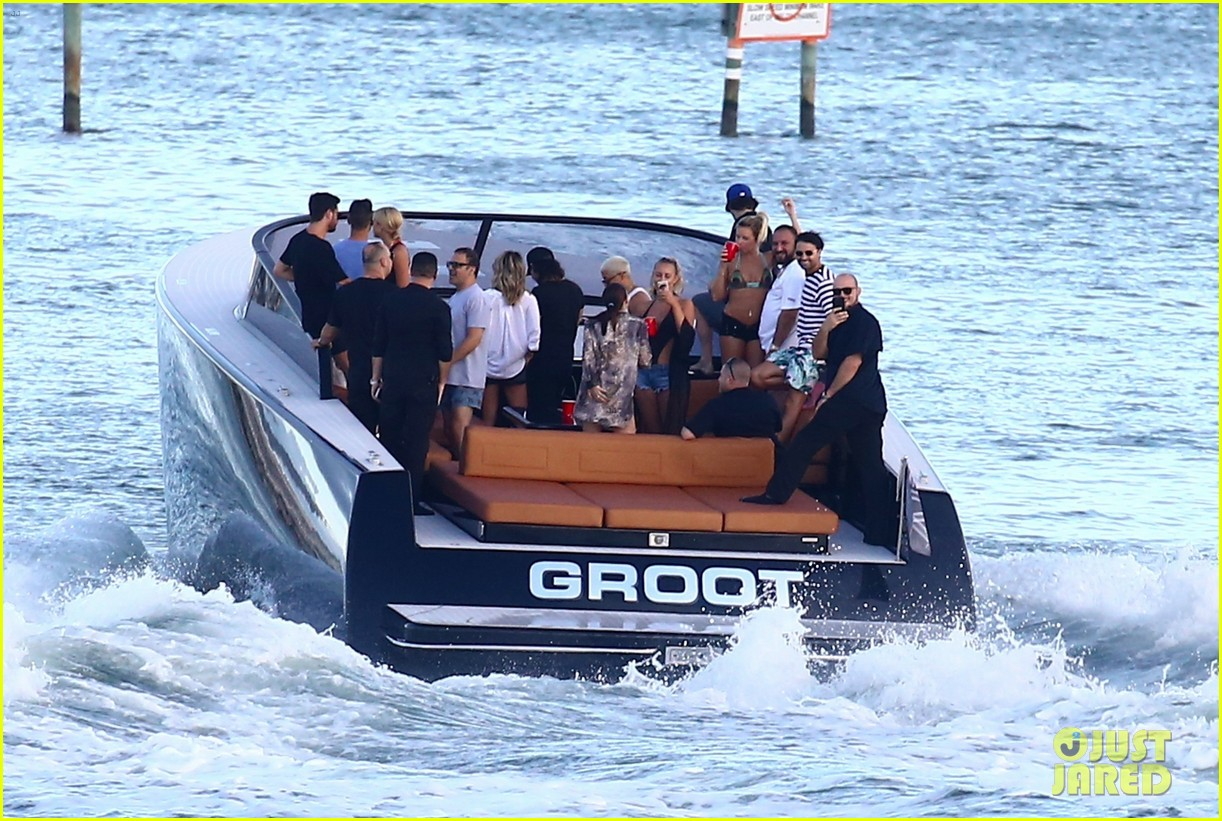 scott disick and sofia richie flaunt pda on a boat with friends2 573963037
