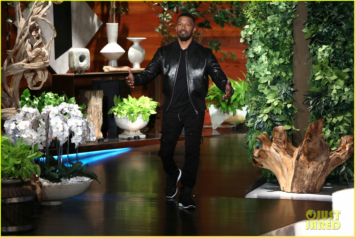 jamie foxx jay pharoah play the impressions game on ellen 03