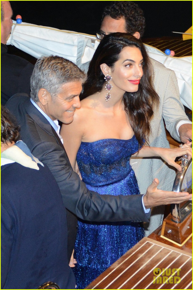 george amal clooney date night venice film fest 013949347