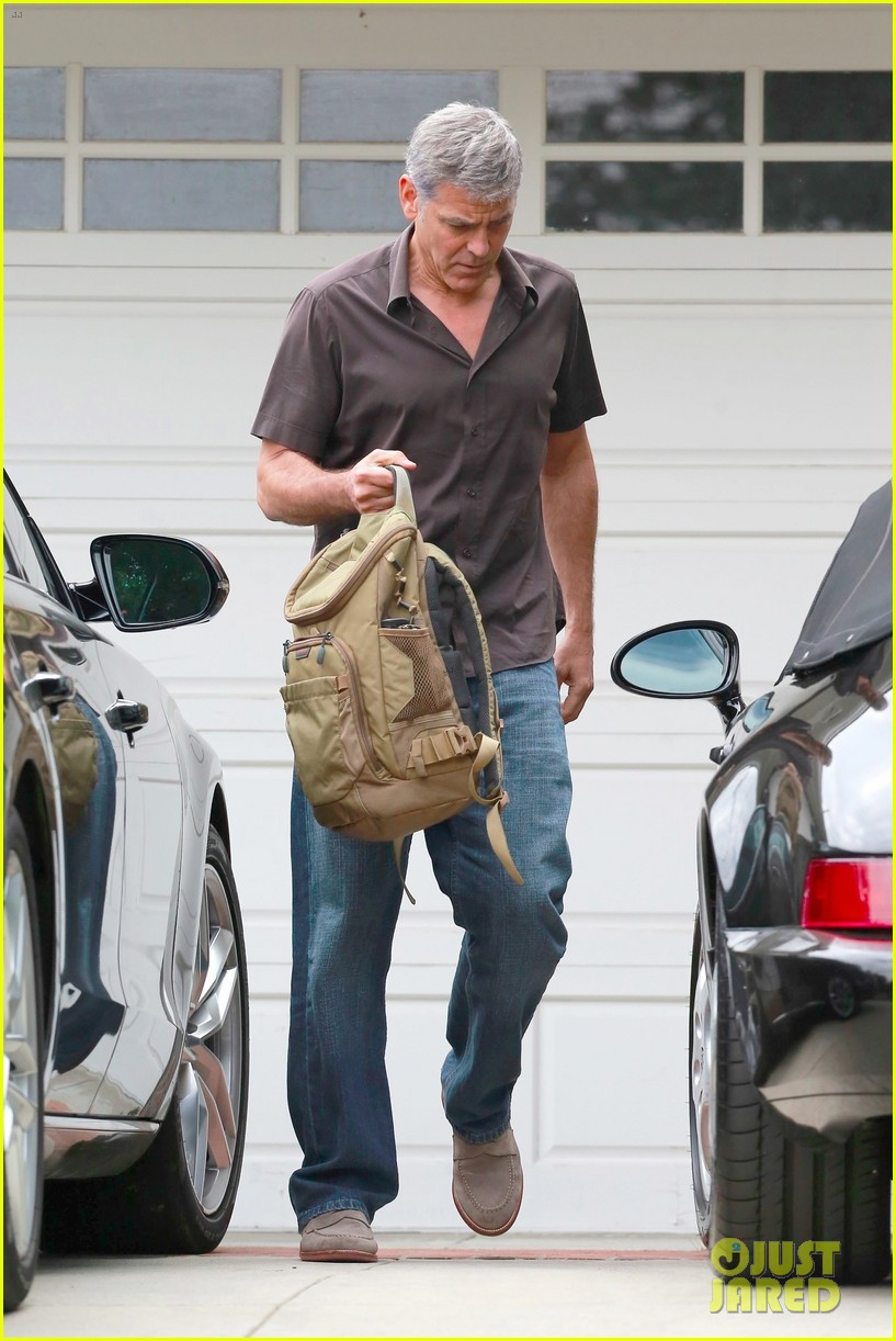 george clooney returns home to la 023961481