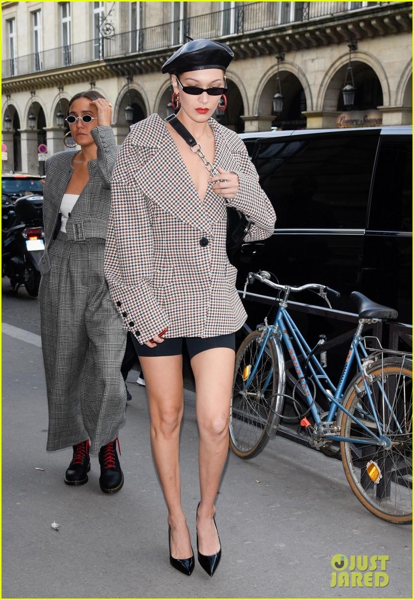 Gigi Hadid, Bella Hadid, & Hailey Baldwin Look Chic at ...
