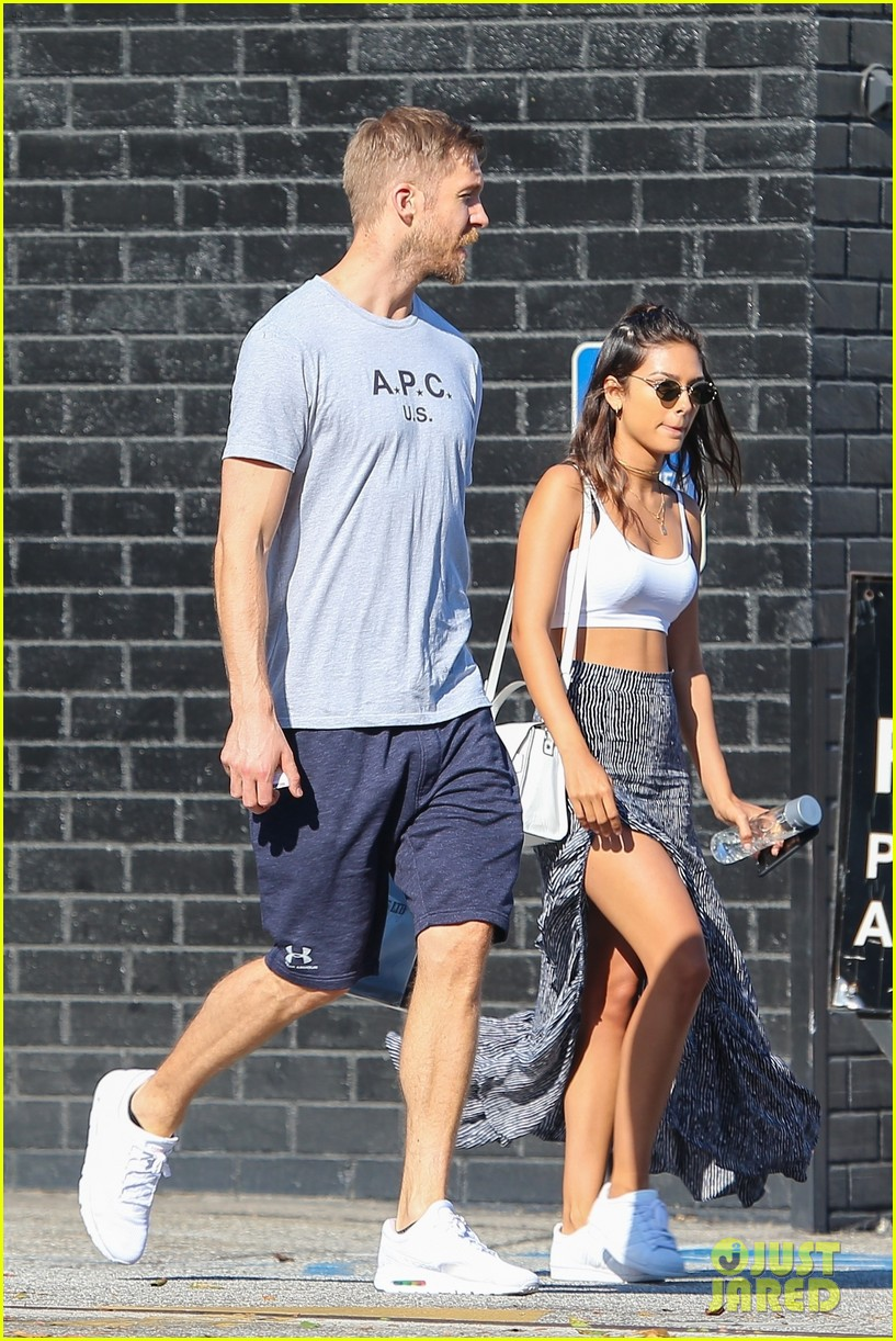 calvin harris shops for jewelry with cristina squyres 013948951