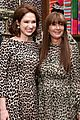 ellie kemper zosia mamet buddy up at kate spade new york leopard pop up shop 08