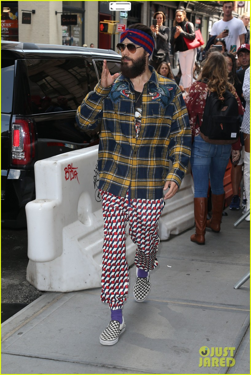 jared leto lunch at balthazar 043954879