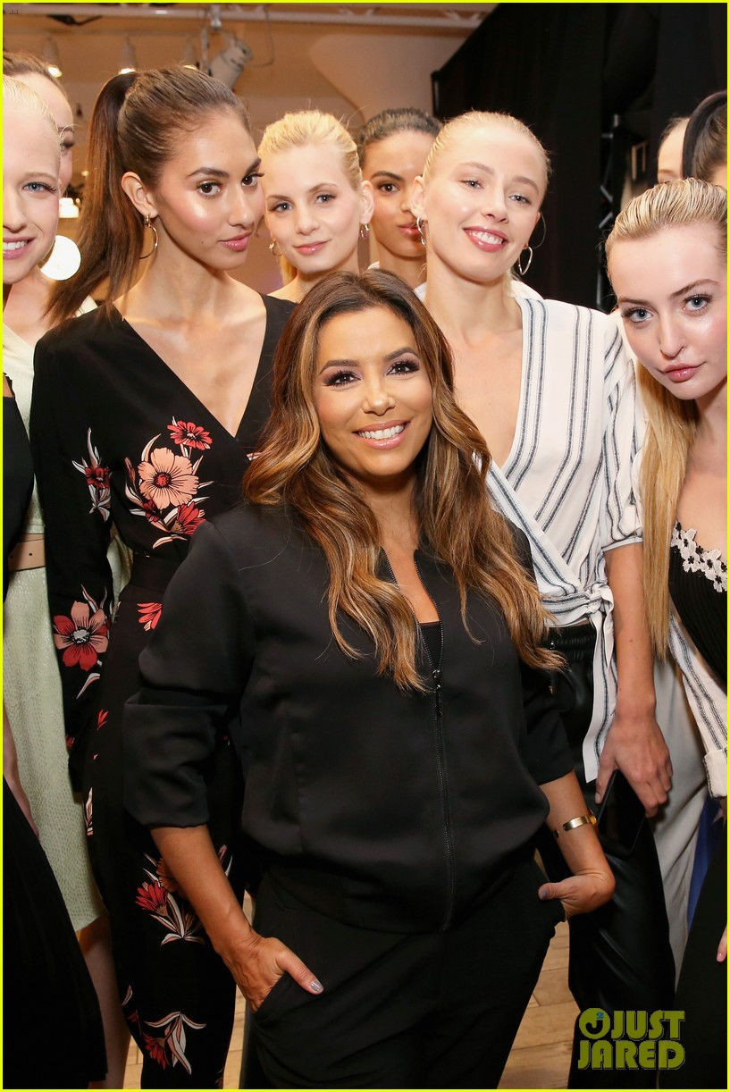 eva longoria debuts her new fashion collection at nyfw 043956614