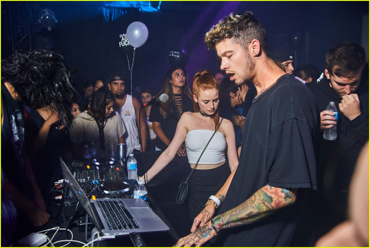 madelaine petsch travis mills couple up at emo nite 043951247