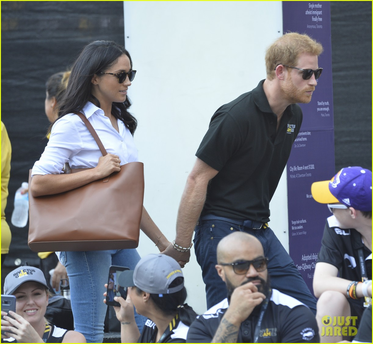 prince harry amp meghan markle hold hands make first public