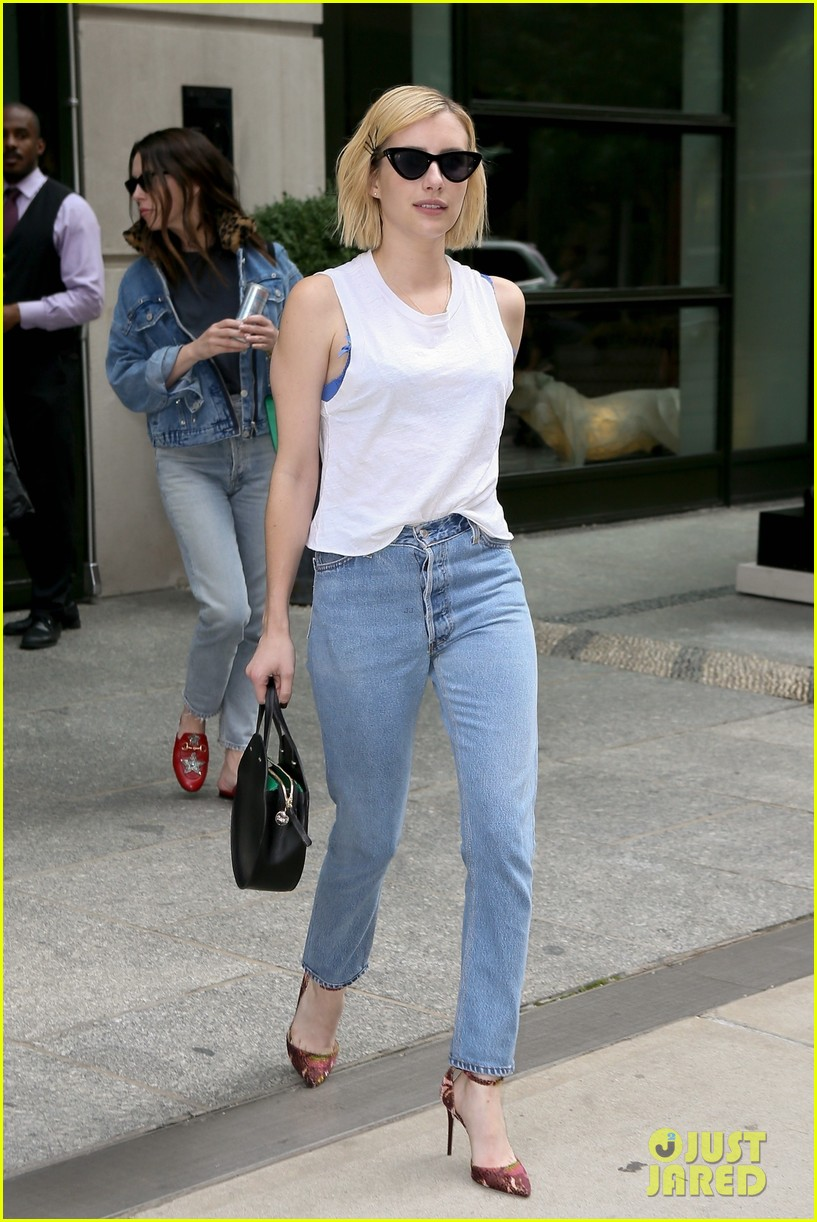 emma roberts enjoys some time off in nyc 053956778